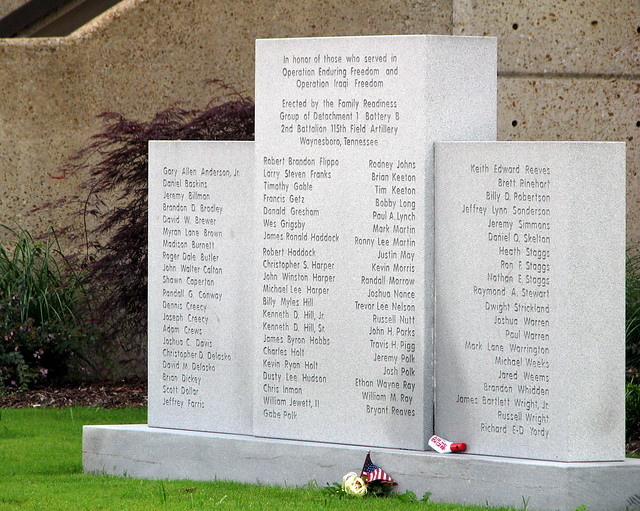Wayne County Gulf War Monument