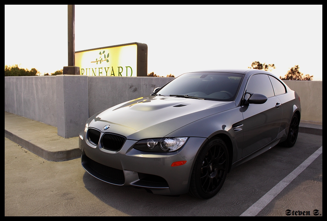 some new shoes for my m3 amp exhaust vid