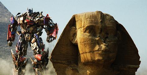 Thumb Mega Spoiler de Transformers 2 sobre Optimus Prime, JetFire, Demolishor y Scavenger