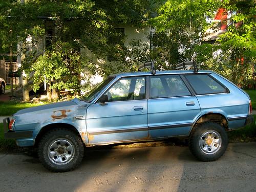 Lifted Subaru Loyale – Articleblog info