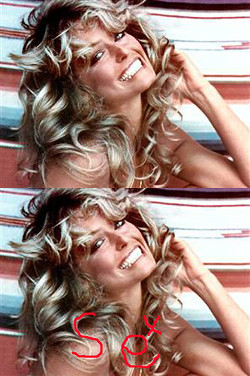farrah fawcett hair sex