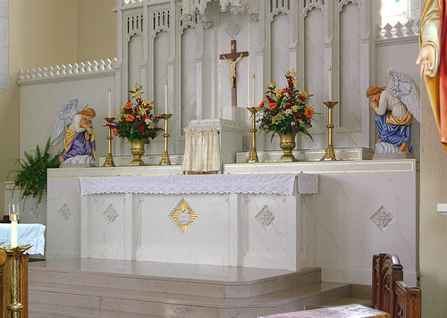 Saint Joseph Roman Catholic Church, in Freeburg, Illinois, USA - tabernacle