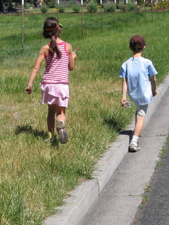 Walking, walking, walking....