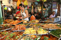 A banquet of street food! (Pondspider) Tags: thailand bangkok streetfood thaifood pondspider