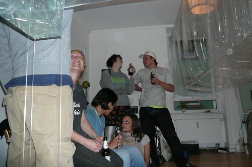 Ausstellung im Kunstraum Tschoperl. Mai 2007