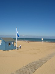 Blue Flag Main Sands Beach Margate Kent