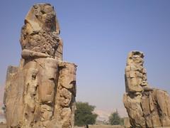 Egypt 07 #36 (tt64jp) Tags: africa sculpture history archaeology statue mystery ancient ruins african religion egypt kingdom unesco worldheritagesite egyptian sacred pharaoh spiritual luxor archeology thebes mysteries ancientegypt    colossiofmemnon archeologicalsite   amenhotepiii   lhistoire   legypte 3