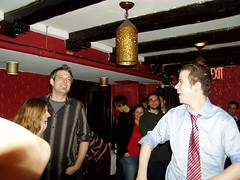 2005 Dec - Big Spaceship holiday party (jenschapter3) Tags: dan mike dave james tyson d joel stefan josh tai jens carl krissy caleb klara federman karlsson moustace kmo estberg widegren lebowitrz