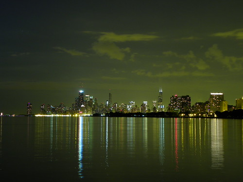 7.6.2009 Chicago by night, Montrose Harbor (3)