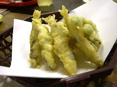 小鮎の天ぷら