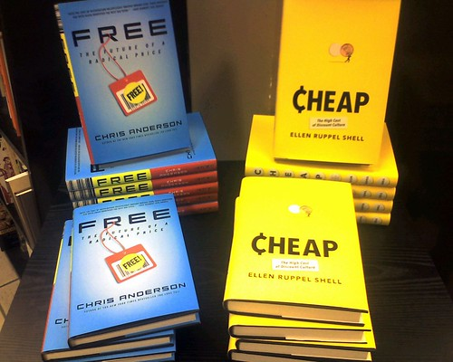 I bet Barnes & Noble thought they were really clever for doing this: Free vs. Cheap