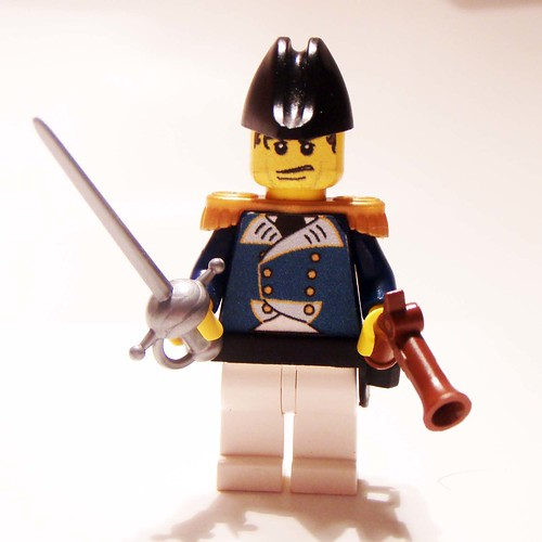 Captain Horatio Hornblower custom minifig