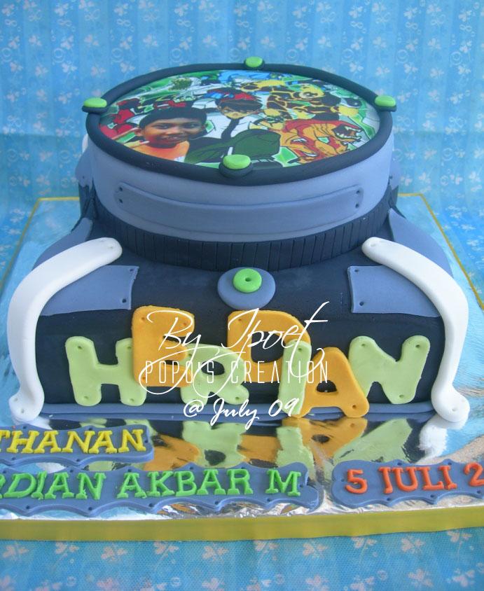 Omnitrix Cake