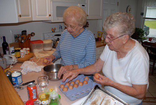 grammy elliott and rita making whoopie pies