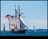 STV Unicorn (Dave the Haligonian) Tags: ocean canada coast boat marine sailing ship novascotia er vessel atlantic east maritime shit sail tallship halifax imean copyrightallrightsreserved dsc0138 davidsaunders stvunicorn davethehaligonian tallshipsfestival2009