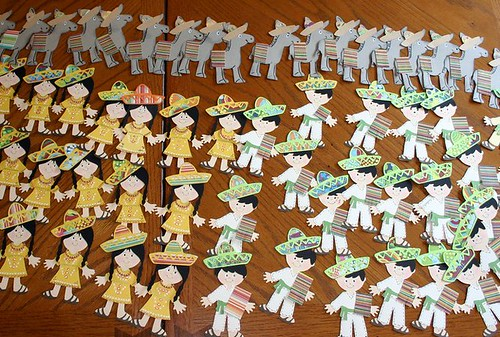Paper dolls for swap