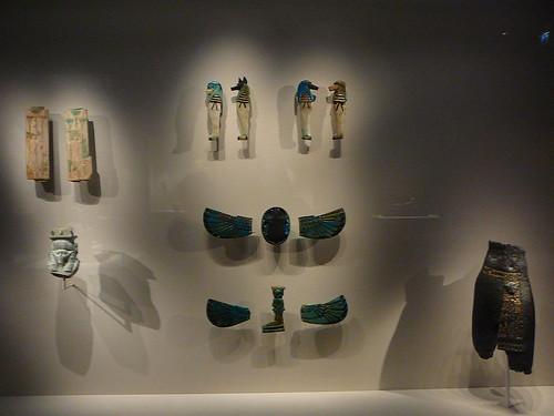 Piezas del Antiguo Egipto.