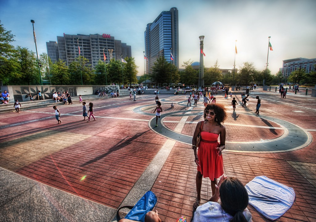 Playing at Olympic Park (by Stuck in Customs)