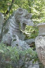 Parco dei Mostri - Parc des monstres : dragon (workflo) Tags: italy parco architecture garden italia jardin monsters mythology renaissance monstre mythologie mostri monstres iltalie