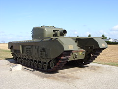 Churchill Tank - Lion sur Mer Photo