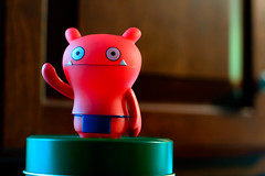 Wage War - Uglydoll (Amarand Agasi) Tags: blue red kitchen against work toy toys high war arm vinyl buddy dirty level dishes satisfaction uglydoll important raised visibility wage greenteatin