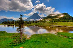 Glacier (Gary P Kurns Photography) Tags: mountains landscape landscapes montana glacier wideanglelenses nikond3