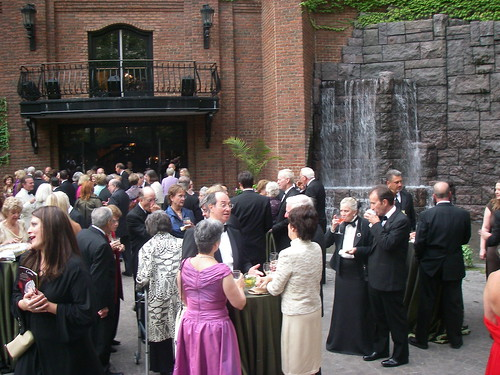 Heinz Hall garden at the Gala cocktail hour