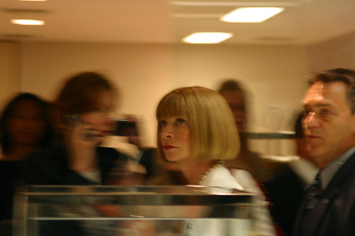 Anna Wintour at Bloomingdales