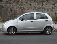 Chevrolet Spark (Tuercasino) Tags: chevrolet daewoo spark 2007 plateado