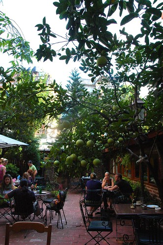 Conversations Greenfruit Restaurant downtown Kathmandu Nepal by Wonderlane