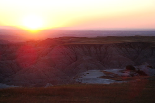 Badlands Sunset, Pinnacle Point