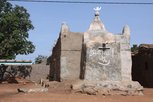 Mosque in Boromo village.