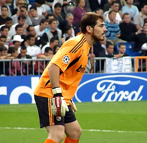 Iker Casillas full attention