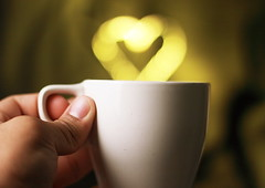 Coffee Addict (Emmanuel_D.Photography) Tags: california coffee yellow canon cool hand heart bokeh awesome corao addiction corazn emmanuel astig dasalla emmanueldasalla
