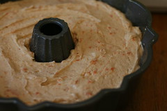 Cinnamon Ripple Sweet Potato Bundt - I Like Big Bundts