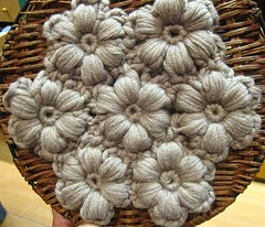 Crochet Art in wool (sifis) Tags: flowers flower art texture wool canon knitting quality crochet merino athens yarn greece handknitting  sakalak     sakalakwool