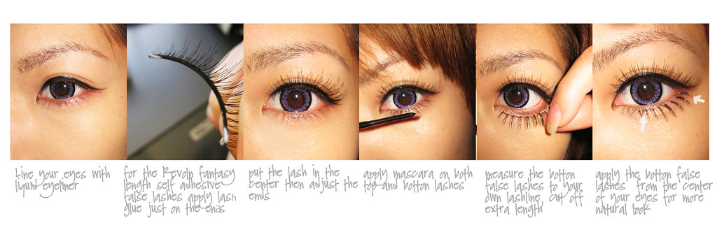 eki lower lash tutorial