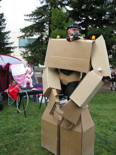 Cardboard Robot Decom 06