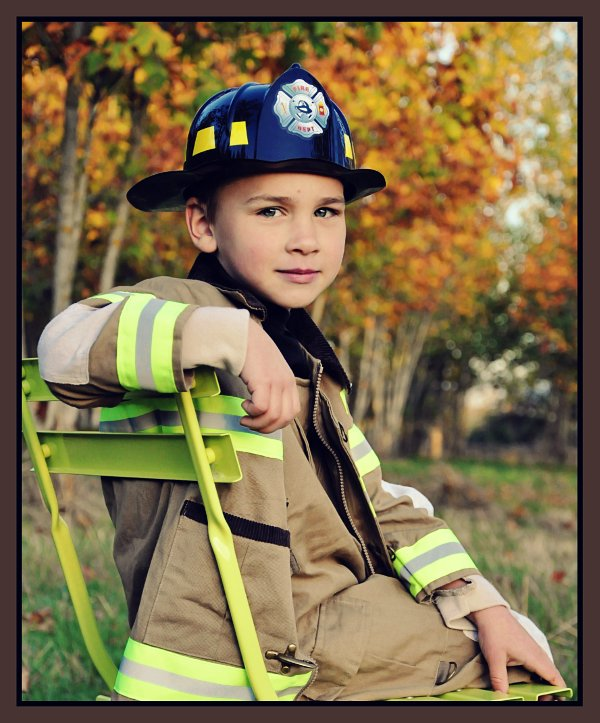 Luke ~ Firefighter