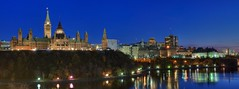 View towards Parliament Hill, Ottawa (Robbie's Photo Art) Tags: panorama hdr ptgui photomatix nikon2870mm d300s