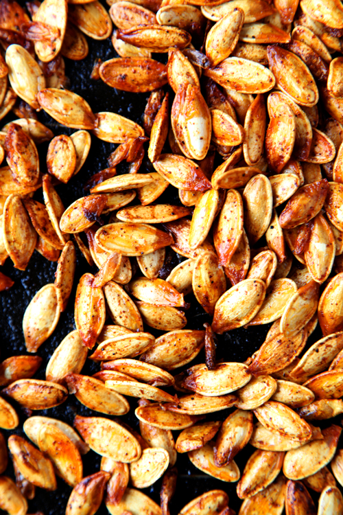 :: Spicy Pumpkin Seeds