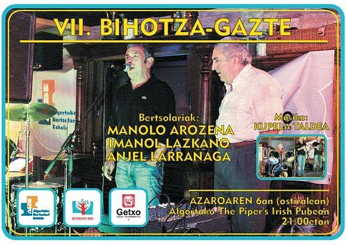 Bihotza Gazte por Algortako Bertsolari Eskola II.