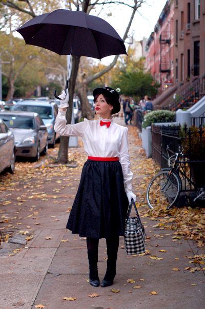 Mary Poppins Last Minute Travel Dress by Keiko Lynn
