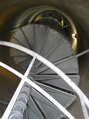 184 Steps to Amazing Views (Blue Temora) Tags: ocean bridge beach oregon stairs lights waterfall astoria column