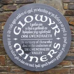 Cofeb y Glowyr (www.atgof.co) Tags: nssaw agssc nlw llgc gwendraethvalley cwmgwendraeth