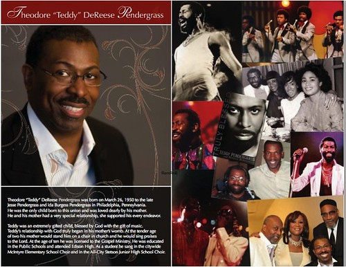 Teddy Pendergrass Program-2