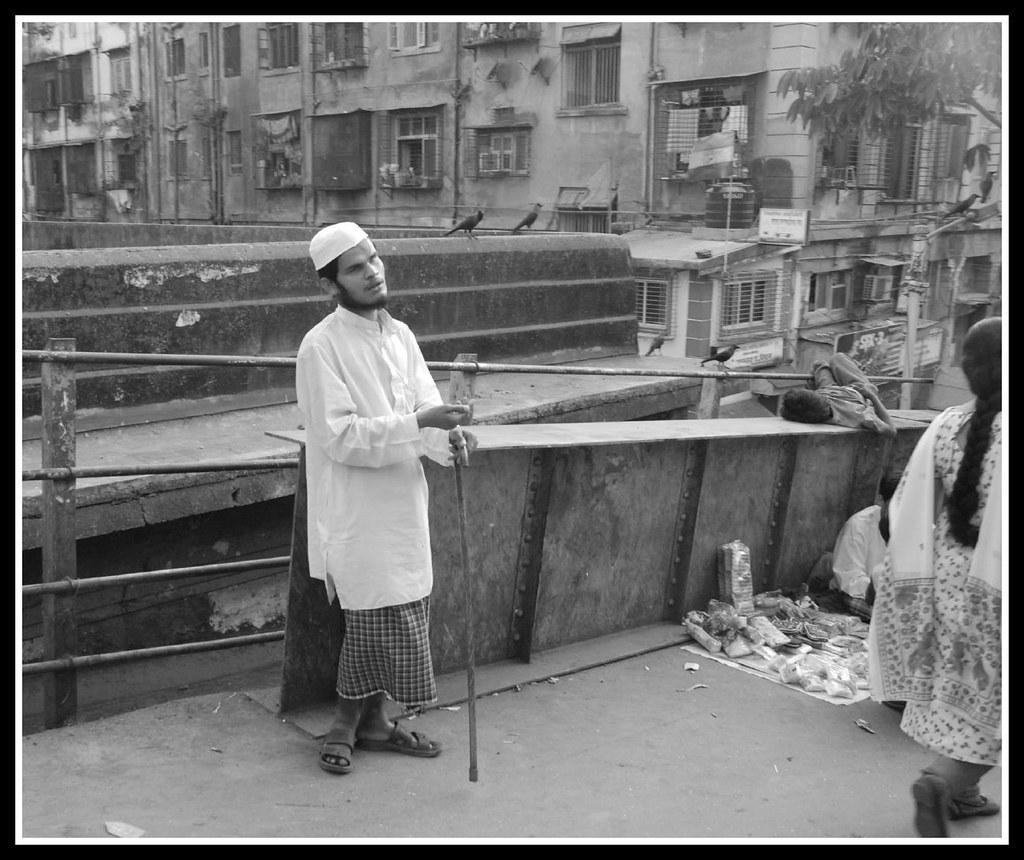 Blind Man at Sandhurst Road