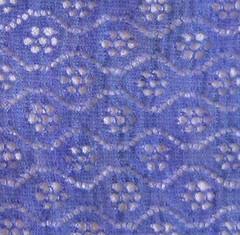 Waterlilies shawl