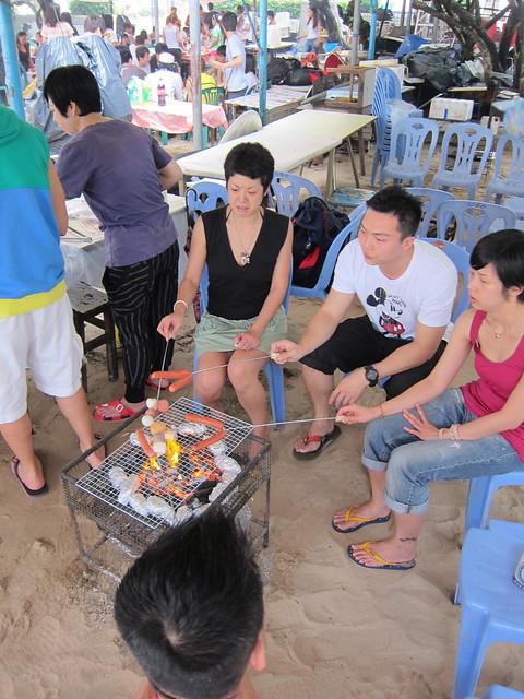 Summer Sunday At Shek O Beach