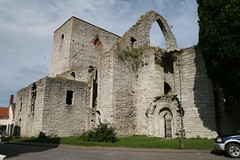2010-09-05 Sweden, Gotland, Visby -  Ruins of St. Lars (Travel With Olga) Tags: city church island sweden churches medieval ramparts gotland viking merchant visby stmarys hanseatic 1525 stlars nationalgeographicexplorer